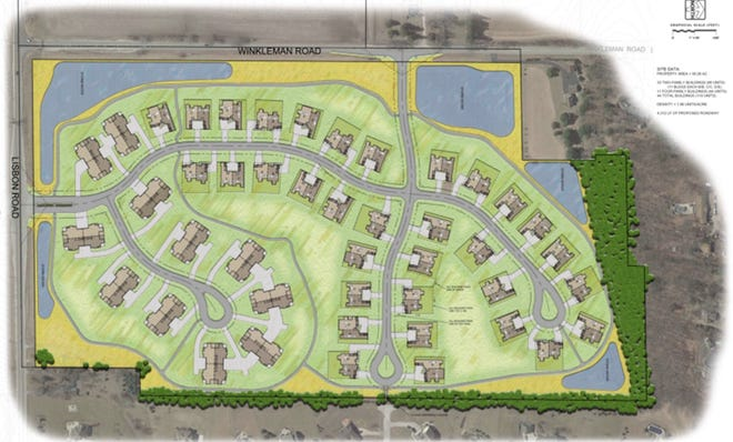 Siepmann Realty has proposed 110 condominium units in the village of Hartland.