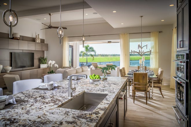 Azure at Hacienda Lakes has just released a selection of new villa and single-family home sites, including several with water views.