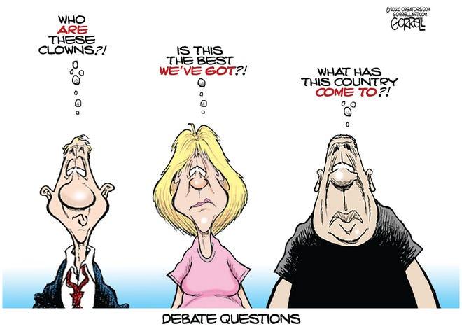Debate questions.