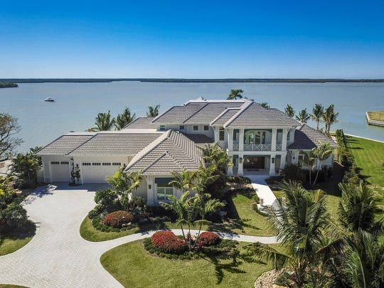 Harwick Homes' Caxambas Bay residence was a recipient of a silver Aurora award for Best Custom Home 6,000 to 8,000 sq. ft.