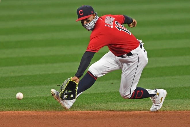 Cleveland shortstop Francisco Lindor is one of the best in baseball at his position on offense and defense.
