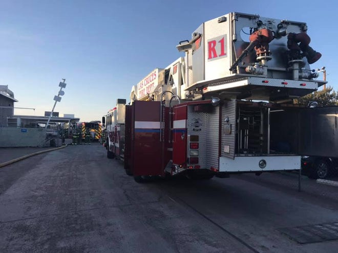 Las Cruces Fire Department units responded to fires at Olam Spices on Amador Avenue Monday evening, Sept. 28, 2020 and Wednesday morning, Sept 30, 2020.