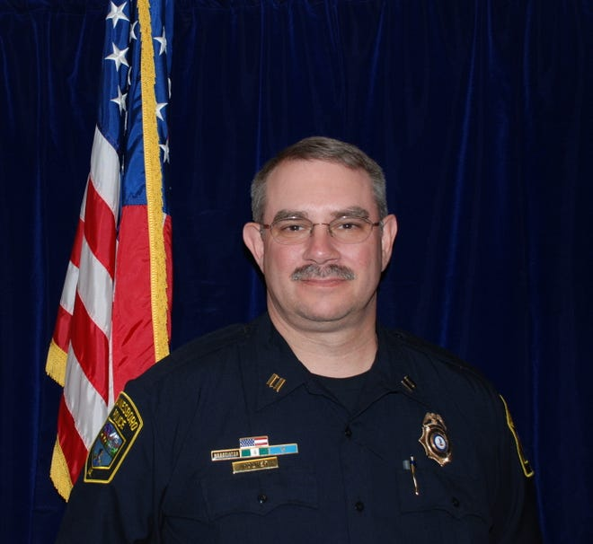 Captain Kelly Walker will retire after 35 years with the Waynesboro Police Department.