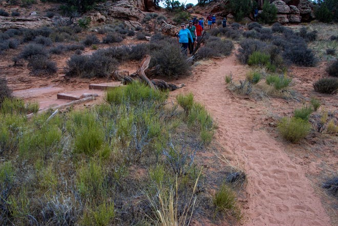 Arches National Park in Moab, Utah has been forced to shut their gates due to crowding overcapacity.