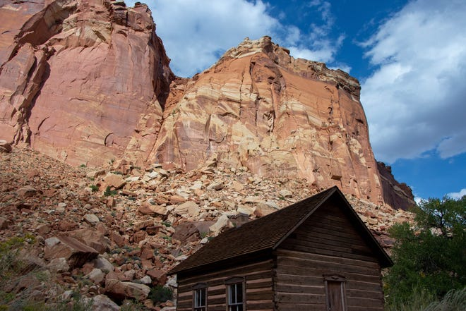 "Fruita, a small ""ghost town"" of an early Latter-day settlement is nestled inside Capitol Reef National Park."