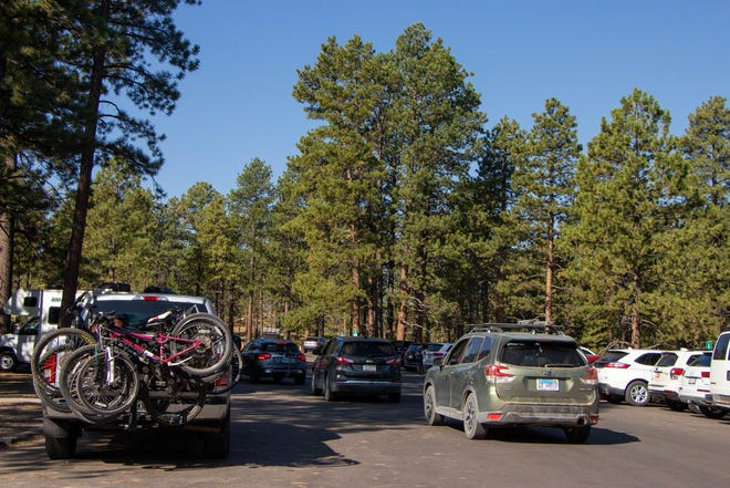 The shuttles at Bryce Canyon National Park have continued to run despite the COVID-19 pandemic.
