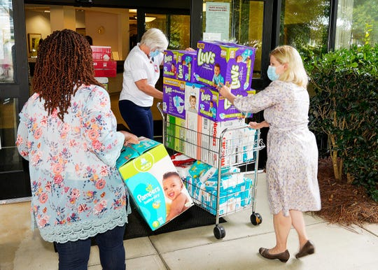 The Bradshaw Institute for Community Child Health & Advocacy of Prisma Health Children's Hospital—Upstate launched its diaper bank to help ensure that every child in the community has enough diapers to remain clean, dry and healthy.