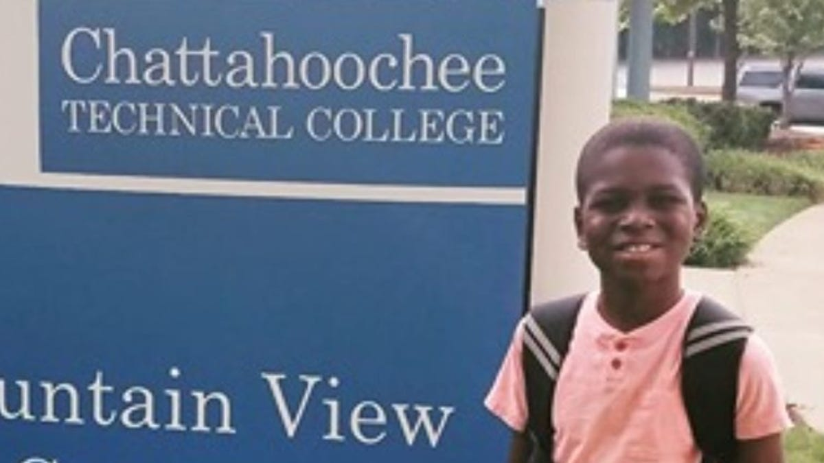 This 12-year-old Georgia boy is a sophomore in college majoring in aerospace engineering