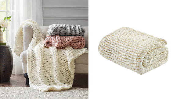 There's nothing cozier than a throw.