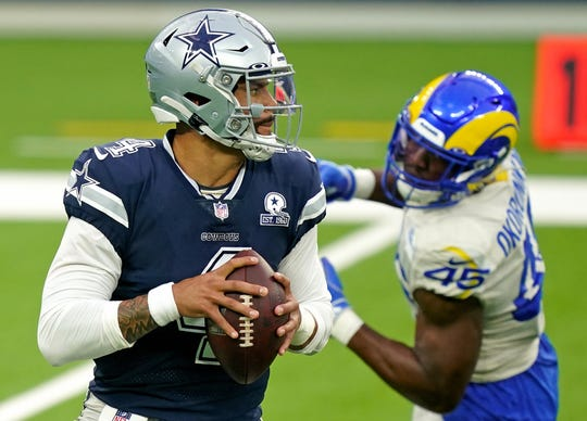 Will the Rams' Week 1 upset of Dak Prescott's Cowboys prove an important playoff tiebreaker?