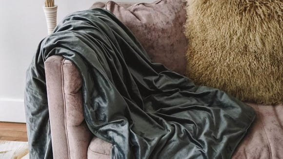 This cushy throw will look luxe in any room of your house.