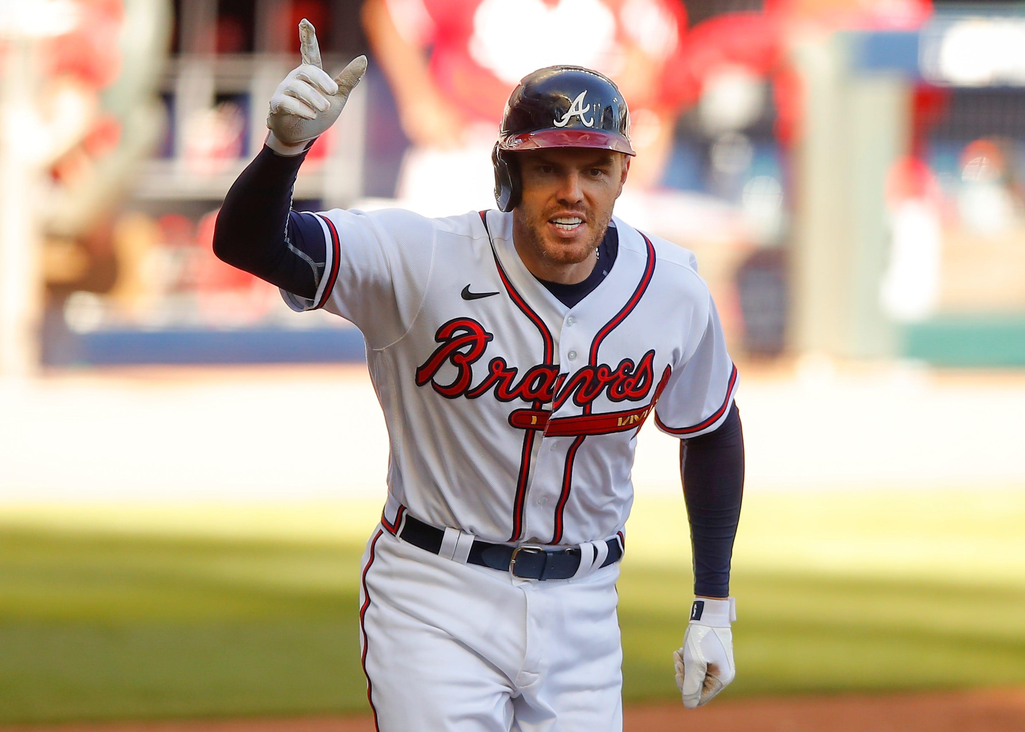 Freddie Freeman gives Braves walk-off win vs. Reds, ending longest scoreless game in MLB postseason history
