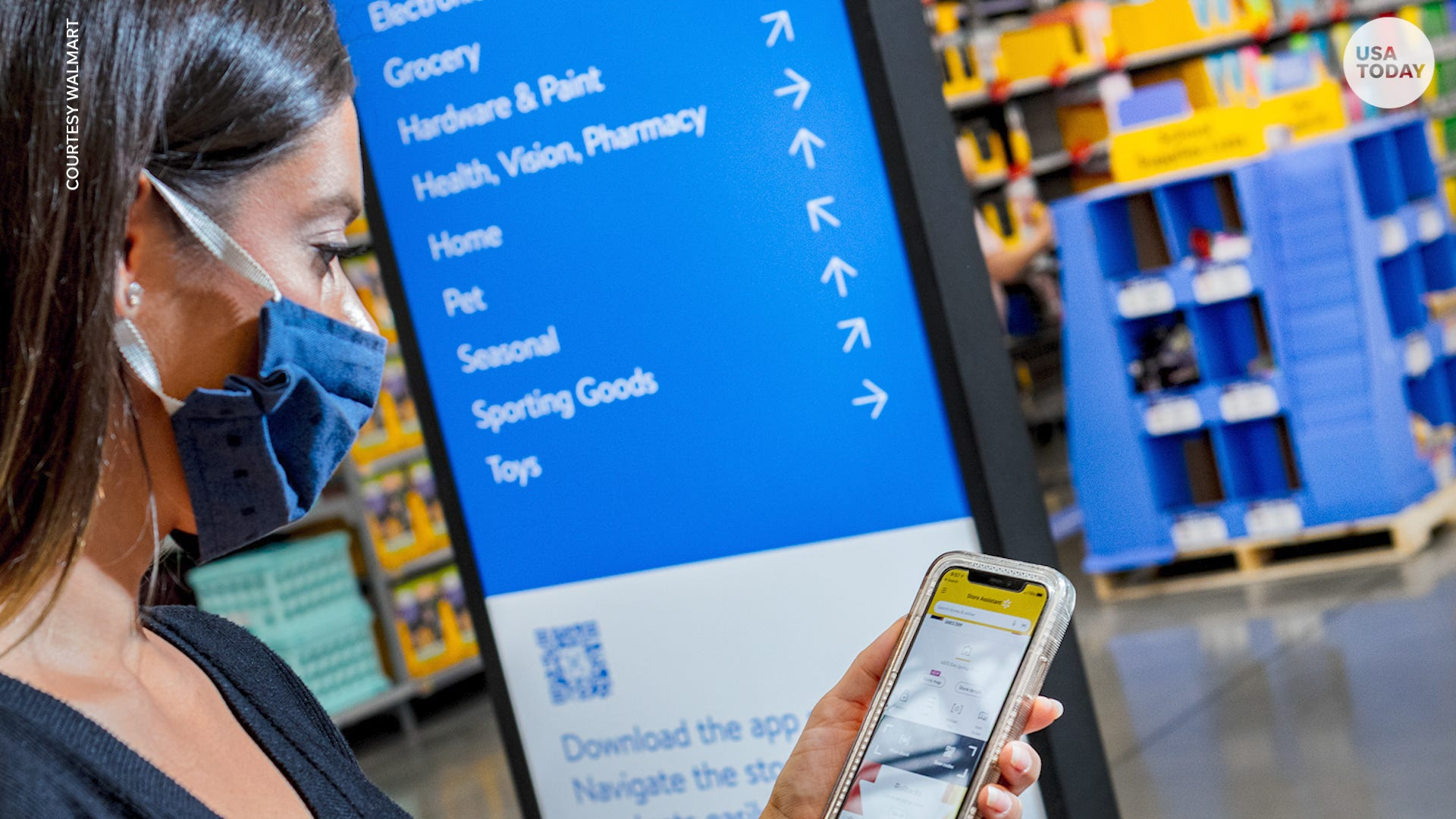 Walmart revamping with new store design that includes contactless options