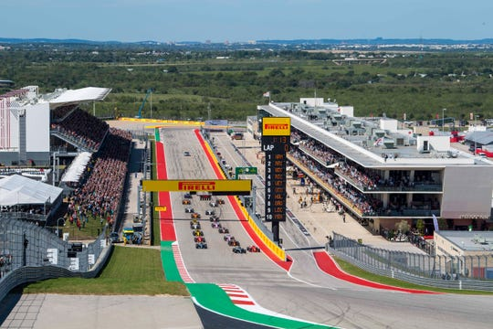 Formula One hosts the United States Grand Prix at the Circuit of the Americas in Austin, Texas.