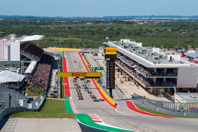Texas Motor Speedway will send one of its 2021 Cup Series dates down the road to Austin's sparkling Circuit of the Americas.