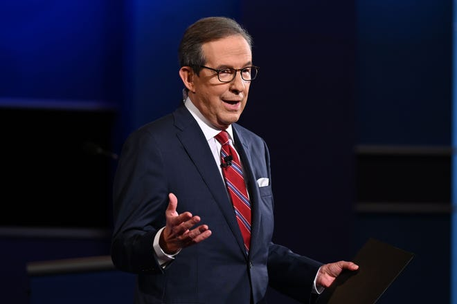 Presidential Debate Trump Chris Wallace Clash In Cleveland