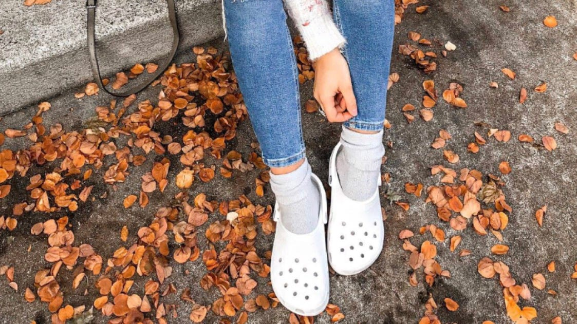 You can save up to 50% on Crocs' comfy footwear right now