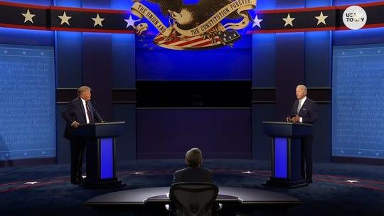 Trump-Biden presidential debate ratings fall 13% from 2016's record-setting first debate