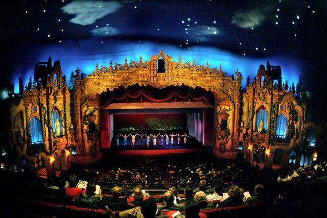 Akron Civic Theatre is hosting an auction for folks to rent it out for a night to host a private movie showing. (Courtesy of the Akron Civic)