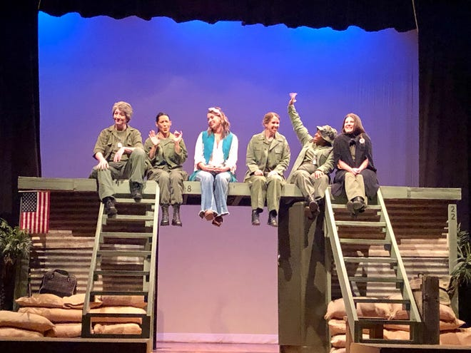 """Ardmore Little Theatre's production of """"A Piece of My Heart"""". Performances are at 7 p.m., Thursday, Friday and Saturday from Oct. 1 to Oct. 3 and 2:30 p.m. on Sunday, Oct. 4."""