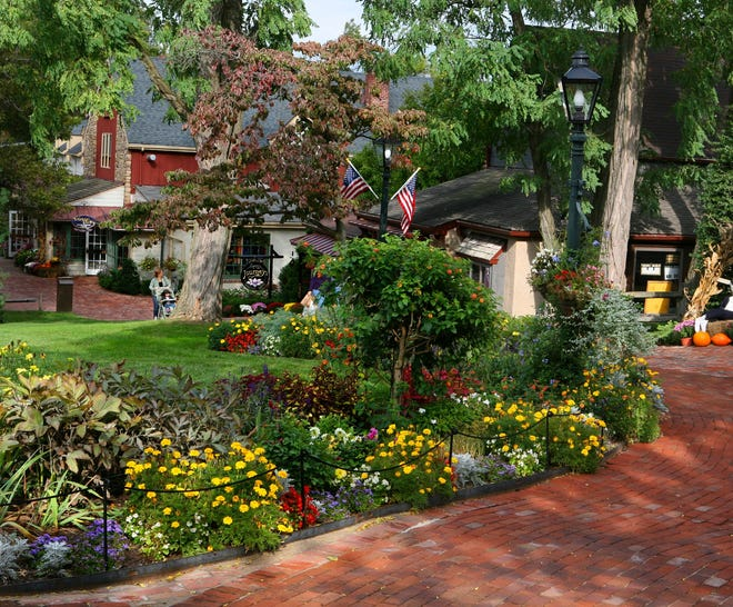 Peddler's Village is a 42-acre shopping, dining, lodging and family entertainment destination that straddles Buckingham and Solebury.