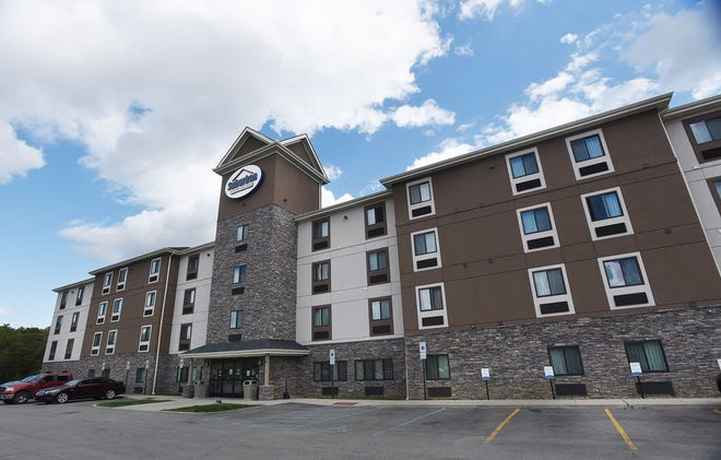 Penn State-Beaver is quarantining students who have been exposed to COVID-19 at Suburban Extended Stay Hotel in Center Township. [Sally Maxson/For BCT]
