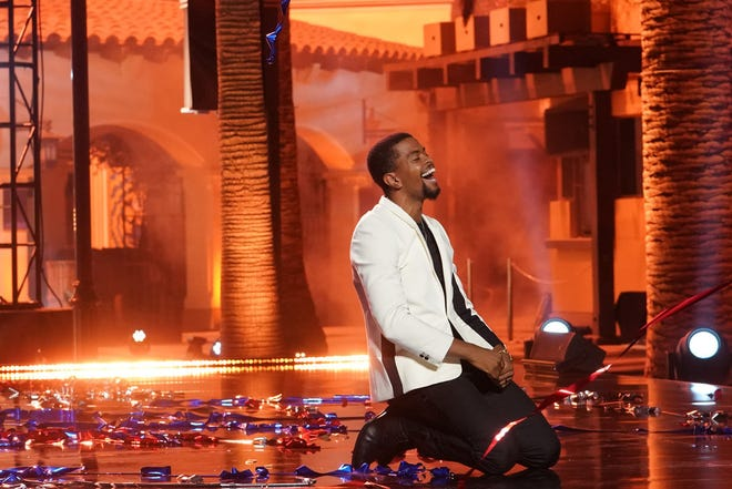 "Brandon Leake performing during the recent live finale of ""America's Got Talent."""