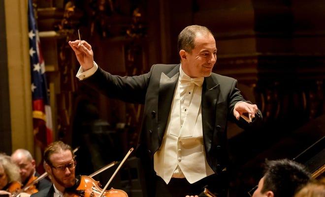 Rossen Milanov, music director of the Columbus Symphony