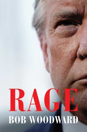 """Cover of """"Rage"""" by Bob Woodward. (Simon & Schuster/TNS)"""