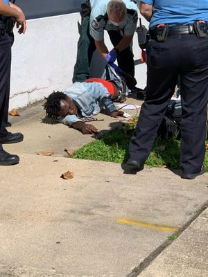 Labadieville resident Gerrel Talbert was injured after jumping from a window at the Lafourche Parish courthouse Wednesday.