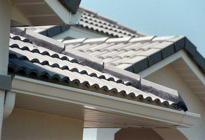 You might be asked to get up on the roof to get your home warranty a sample of the shingles if there is an issue.