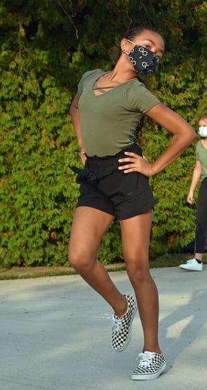 Ariana Monesky-Jones, 11, of Silver Lake Elementary School.