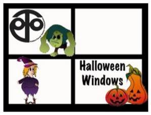 PTO Halloween Windows