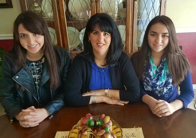The Etiquette Chics, from left, are Anna Vernick, Susan Vernick and Lauren Vernick.