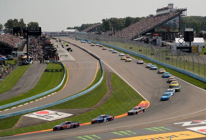 The annual NASCAR race at Watkins Glen didn't happen this year because of the pandemic, but is back on the 2021 schedule.