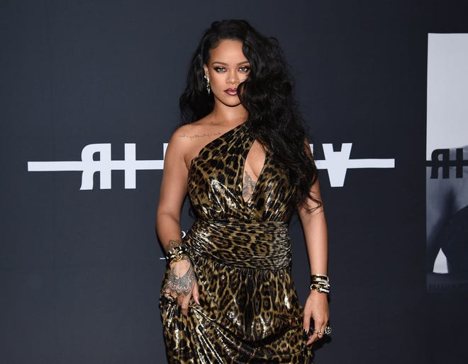 It's been four years since Rihanna released an album but the singer is working hard on recording new music.