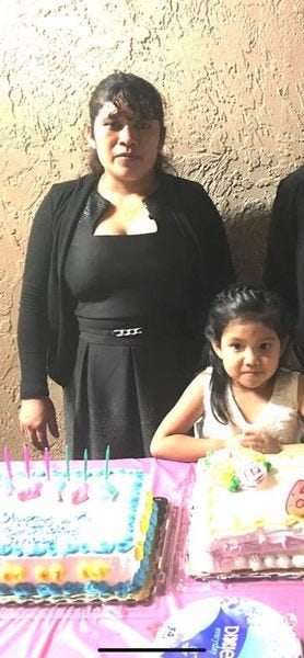 Catarina Reymundo Marcos celebrates a birthday with her daughter Anai. (Provided by family)