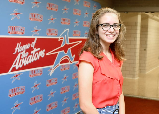 Alliance High School's Julia Schwartz is the Stark State College Teen of the Month for September.