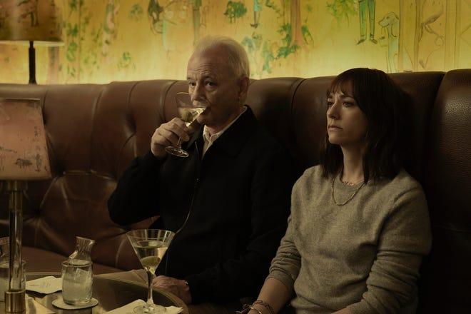 "Bill Murray and Rashida Jones in Sofia Coppola's ""On the Rocks."""