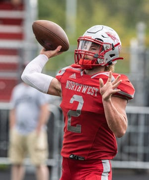 Jordan Mick of Northwest leads the area in passing this season
