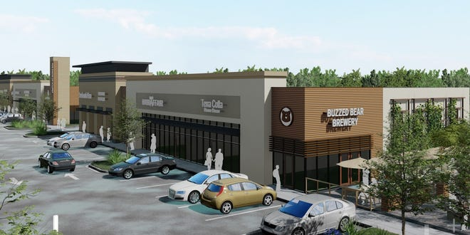 The first phase of the Shops at Hilltop will encompass approximately 28,000 square feet of mixed commercial space.