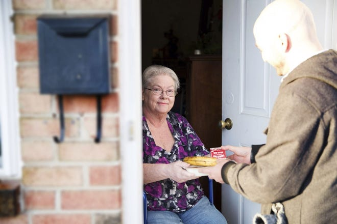 Home delivered meals are crucial for seniors who are homebound because of the nationwide pandemic.