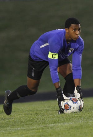 First-year starting goalie Ty Bowden is among the players responsible for the North boys soccer team posting 10 shutouts through its first 12 games. The Panthers were ranked fourth in the state in Division I last week.