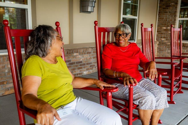 Givens Gerber Park fosters community and provides services for seniors with a moderate income – a new model that is helping its residents thrive.