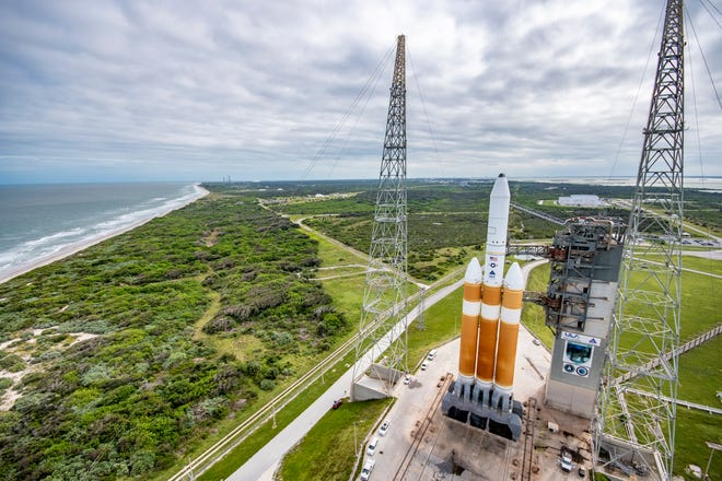 A Delta IV Heavy rocket is scheduled to be launched in December.