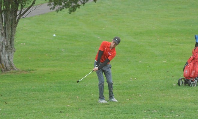 Buckeye Central's Casey Geissman led the team with an 85, fourth-best score on the day at the N10 tournament.