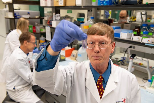 Andrew Norman, PhD, a professor in the UC College of Medicine's Pharmacology and Systems Physiology department and a leader in the Center for Addiction Research, is studying an anti-cocaine antibody for humans that may help block the effects of cocaine.
