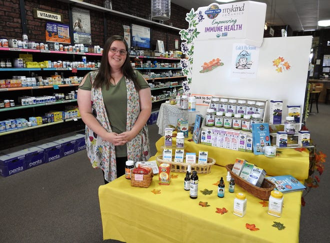 Laura Belt became the new owner of Marilyn's Natural Foods in July. There are seven employees and the store offers a variety of vitamins, minerals, food and more.