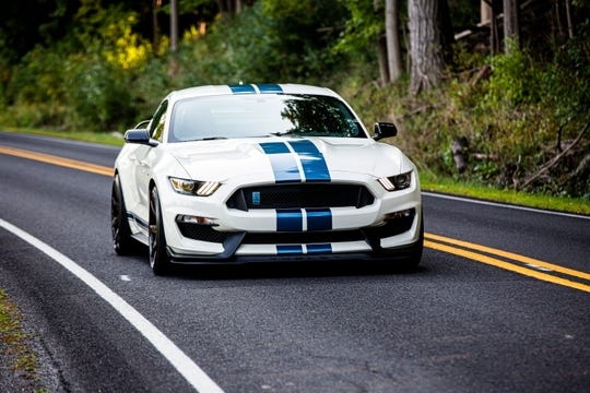 Ford plans to stop production of the Mustang Shelby GT350 seen here in 2020.