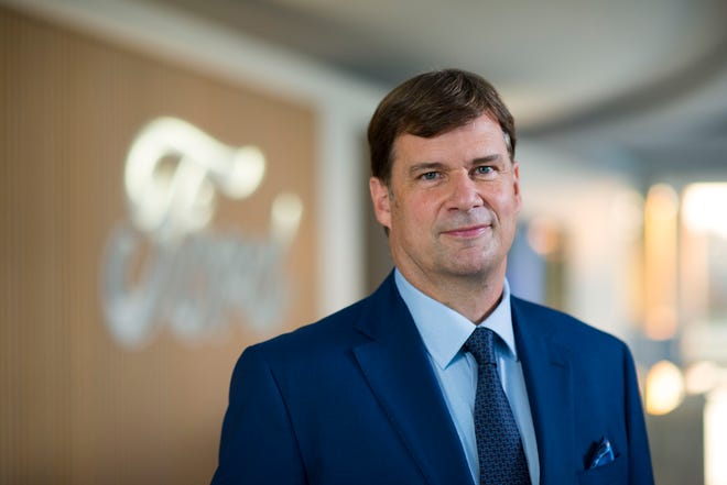 Ford CEO Jim Farley announced a management shakeup on Day 1 of his new job.